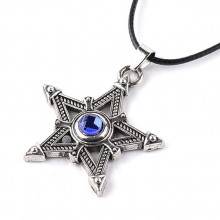 AC051 Кулон Звезда со шнурком 4см