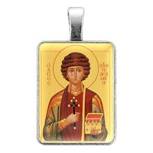 ALE304 Нательная иконка Святой великомученик и целитель Пантелеимон
