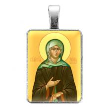 ALE316 Нательная иконка Святая блаженная Ксения Петербургская