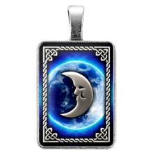 ALE710 Амулет Ведьмины руны - Руна Луна