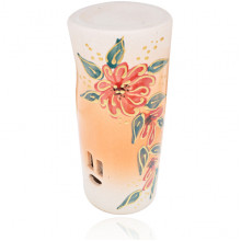 ARL015 Аромалампа Окно 13,5х6см, керамика, ручная роспись в ассорт.