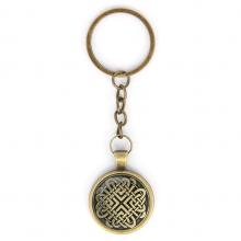 BK-ALK305 Брелок Кельтские сердечные узлы
