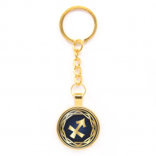 BK-ALK545 Брелок Знаки Зодиака - Стрелец, цвет золот.