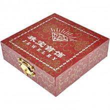 BOX013 Коробка для браслетов, 9х9х2,5см