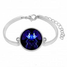 BS263-05 Металлический браслет Знаки Зодиака - Близнецы