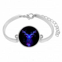 BS263-09 Металлический браслет Знаки Зодиака - Козерог