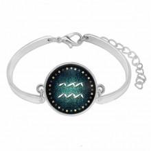 BS264-01 Металлический браслет Знаки Зодиака - Водолей