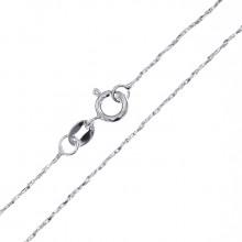 CN003-6 Тонкая цепочка для кулона 44см, нержавеющая сталь