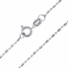 CN003-8 Тонкая цепочка для кулона 43см, нержавеющая сталь