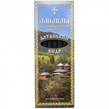 FS-KS015 Фимиам кадильные свечи Алтайский Кедр