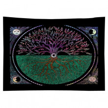 GB034 Гобелен Дерево жизни (цветное) 95х73см
