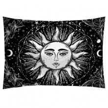 GB040 Гобелен Солнце (чёрно-белый) 95х73см