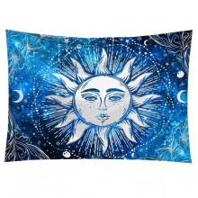 GB042 Гобелен Солнце (синий) 95х73см