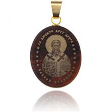 IK003-106 Именная иконка из обсидиана 27x22мм Станислав