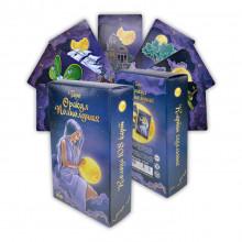 KG11037 Карты гадальные подарочные VIP Таро Оракул Полнолуния 108 карт 14х8х3,3см