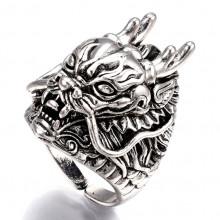 KL067 Кольцо Дракон 19мм (размер 9)