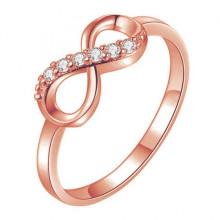 KL105-RG-7 Кольцо Бесконечность, цвет роз.золот., размер 7