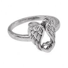KL127-8 Кольцо Ангельская любовь, размер 18