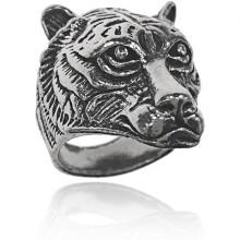 KL156 Кольцо Тигр, размер 12
