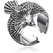 KL157 Кольцо Орёл, размер 9