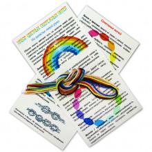 KNN1 Набор цветных обережных нитей 7шт.