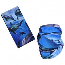 MASF-070 Шарф-маска Дельфины
