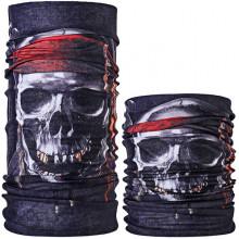 MASF-090 Шарф-маска Череп пирата