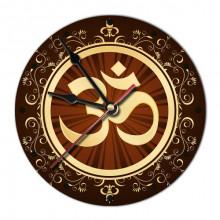 MCH033 Часы настенные Ом 20см, пластик