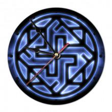 MCH041 Часы настенные Валькирия 20см, пластик