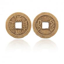 MN007 Китайская сувенирная монета, d.27мм