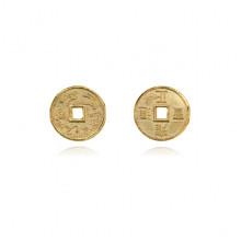 MN013-10 Китайская сувенирная монета Дракон, d.10мм