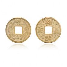 MN013-24 Китайская сувенирная монета Дракон, d.24мм