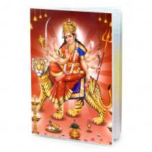 MOB018 Обложка для паспорта Дурга, ПВХ