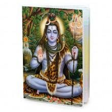 MOB036 Обложка для паспорта Шива, ПВХ