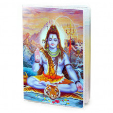 MOB037 Обложка для паспорта Шива, ПВХ