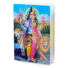 MOB043 Обложка для паспорта Ардханарешвара, ПВХ