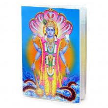 MOB044 Обложка для паспорта Вишну, ПВХ