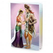 MOB045 Обложка для паспорта Шива и Парвати, ПВХ