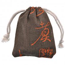 MS038-1 Льняной мешочек 8х10см, цвет коричневый