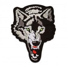 NS037 Нашивка Злой волк, 95х75мм