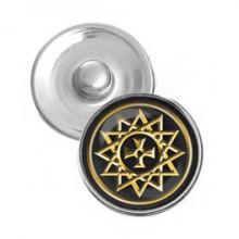 NSK007 Кнопка 18,5мм Звезда Эрцгаммы