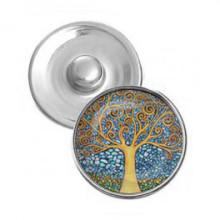 NSK010 Кнопка 18,5мм Дерево жизни