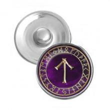 NSK013 Кнопка 18,5мм Руна Тейваз