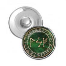 NSK014 Кнопка 18,5мм Богатство на всех уровнях бытия