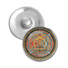 NSK060 Кнопка 18,5мм Калачакра мандала
