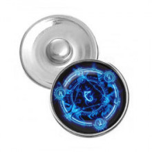 NSK066 Кнопка 18,5мм Магическая печать