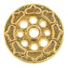 PBK004-G Подставка для благовоний Лотос, цвет золотой
