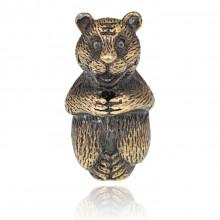 PBK018-01 Подставка для благовоний Восточный гороскоп - Тигр, бронза