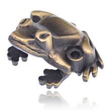 PBK049-B Подставка для благовоний Лягушка, цвет бронзовый