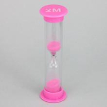 PS002-2M Песочные часы на 2 минуты, пластик, стекло
